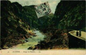CPA AK Algerie Gorges de Palestro ALGERIE (749276)
