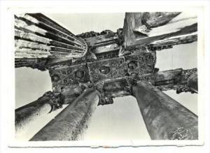 RP  Lebanon, Baalbek - details of ceiling of Bacchus, PU-1963