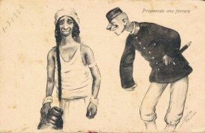 Morocco - Caricature Funny Humor 1920´s 04.58