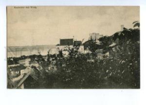150528 POLAND Kazimierz on Wisla view Vintage postcard
