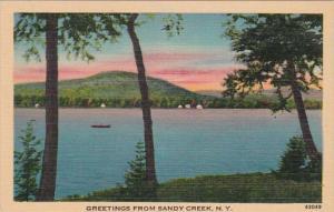 New York Greetings From Sandy Creek