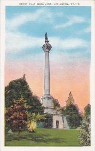 Kentucky Lexington Henry Clay Monument