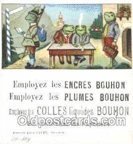 Approx Size Inches = 1.75 x 3.75  Employez Las Encres Bouhon
