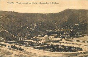 Postcard Italy Genova Cimeitero monumentale