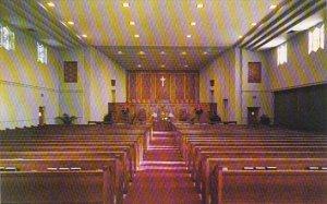 Florida Fort Myers Interior First Methodist Church