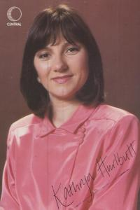 Kathryn Hurlbutt Crossroads Original Limited Central Television Cast Card Photo