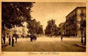 Italy - Palermo. Avenue of Liberty