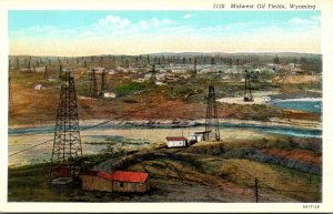 Wyoming Nidwest Oil Fields Curteich