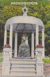 Massachusetts Fiskdale St Anne's Shrine