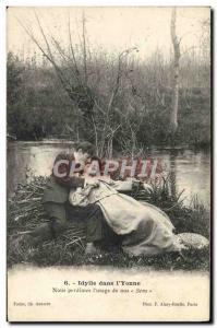 Old Postcard Idyll in i & # 39Yonne We perdimes the & # 39usage our Sens