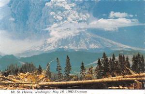 Eruption of Mt St Helens -