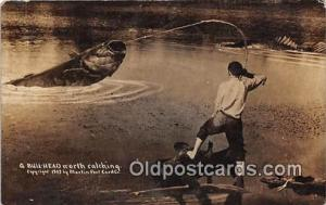 Bull Head 1909 Martin Post Card Co Postcards Post Cards Old Vintage Antique 1...