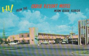 Florida Miami Beach Carib Resort Motel