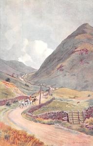 Cumbria Kirkstone Pass, after Edward G. Hobley Drawing