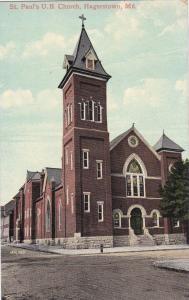 HAGERSTOWN, Maryland, 00-10s ; St. Paul's U.B. Church