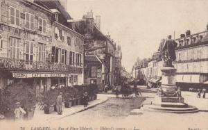 LANGRES , France , 00-10s ; Rue et Place Diderot