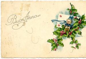 Greeting - Buon Anno - Happy New Year in Italian