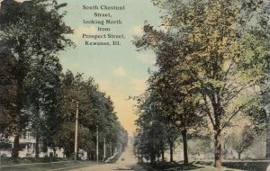 KEWANEE , Illinois, 1913 , South Chestnut Street