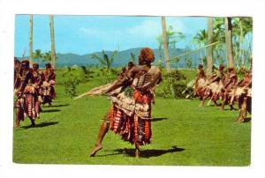 Spear Dance Dancer, Fiji, 40-60s