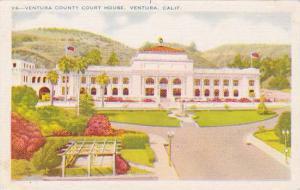 Ventura County Court House, Ventura, California, 1930-1940s