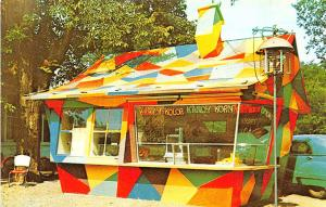 Chicago IL Krazy House Korn Kompany Drive-In Postcard