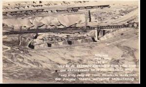 Montana Glasgow Fort Peck Dam Project Inlet Portals Of Diversion Tunnels Real...