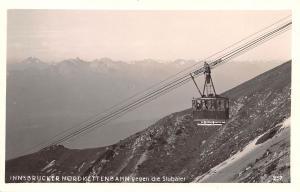 Innsbruck Austria Nordkettenbahn gegen die Stubaier Innsbruck Nordkettenbahn ...