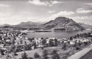 Switzerland Lugano Panorama e Monter Bre Photo