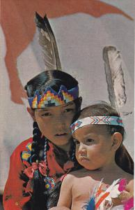 Native American Indian Children of the Stony Tribe, CANADA,  40-60s