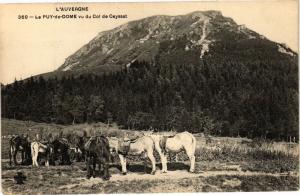 CPA L'Auvergne - Le PUY-de-DOME vu du Col de Cayssat (220705)