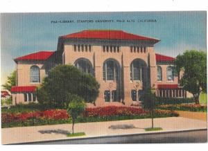 Library Stanford University Palo Alto  California C1930