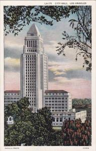 California Los Angele City Hall