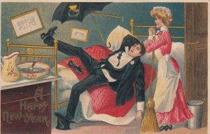 Maid & Drunk Man , 00-10s ; A Happy New Year