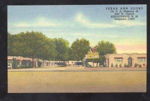 TUCUMCARI NEW MEXICO ROUTE 66 HIGHWAY SCENE VINTAGE POSTCARD