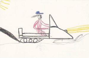 Artwork From Indians Kids (Greg Lafferty - Age 8), Expo 86, Northwest Territo...