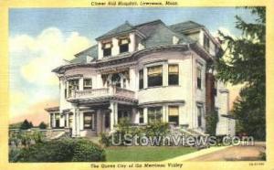 Clover Hill Hospital Lawrence MA Unused