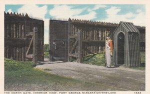 NIAGARA ON THE GATE , Ontario, Canada, 1910s ; Fort George , North Gate