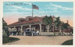 HOT SPRINGS National Park , Arkansas , 1910s ; Country Club