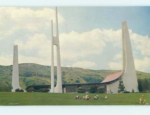 Pre-1980 CHURCH SCENE Whittier California CA hs7577