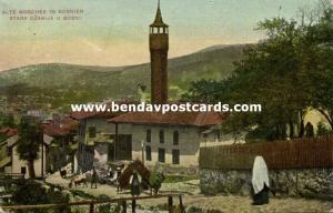 bosnia and herzegovina, TUZLA (?), Old Mosque (1914) Islam