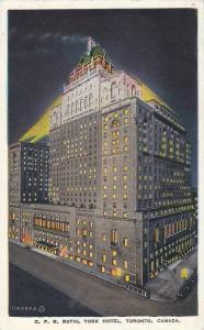 Exterior, C.P.R.Royal York Hotel,Toronto, Canada,PU-00-10s