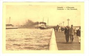 L'Estacade, Ostende (West Flanders), Belgium, PU-1939