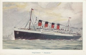 French Line Paquebot / Ocean Liner FRANCE , 1900-10s