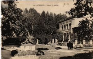 CPA AVIGNON - Square St-Agricol (511431)