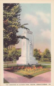 REGINA , Saskatchewan, 1930s ; Cenotaph in Victoria Park