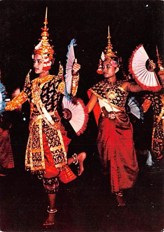 Cambodia, Cambodge Ballerines du Corps de Ballet Royal  Ballerines du Corps d...