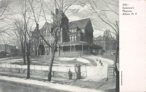 Governor's Mansion, Albany, New York, Early Postcard, unused
