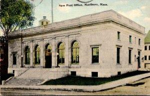 Massachusetts Marlboro New Post Office 1913