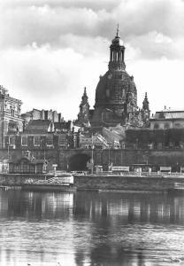 Dresden Frauenkirche vom Neustaedter Elbufer Church River Eglise
