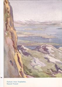 Outlook from Torghatten , Natural Tunnel , Norway , 00-10s